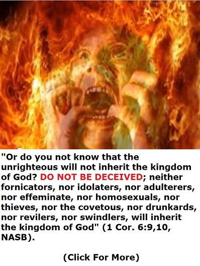 will not inherit the kingdom of God