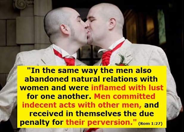 Ex homosexual men