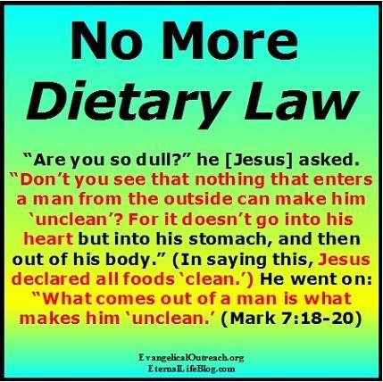 messianic jews dietary laws