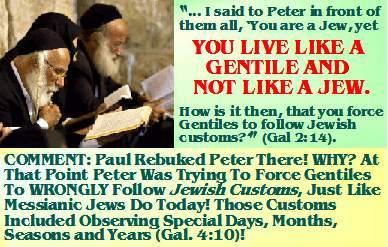messianic jews galatianism