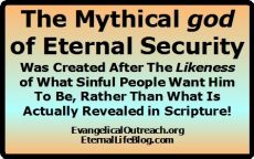 eternal security myth god