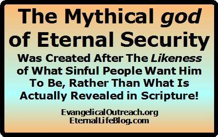 mythical god of eternal security