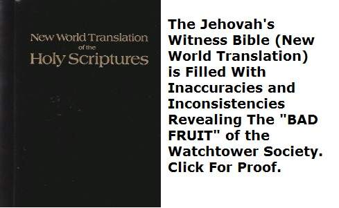 jehovah's witnesses bible new world translation