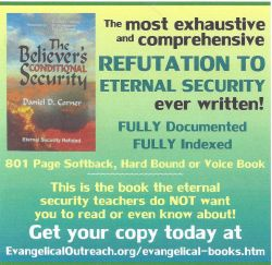 no eternal security book