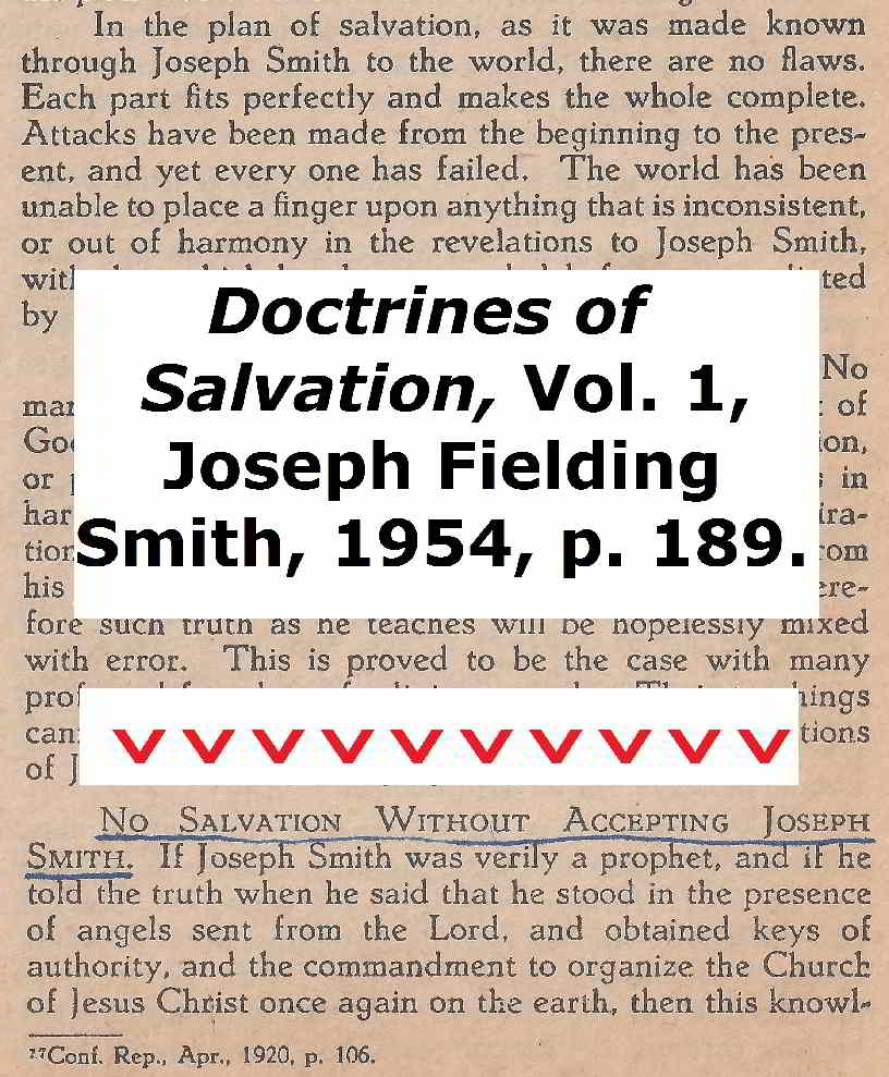 joseph Smith salvation