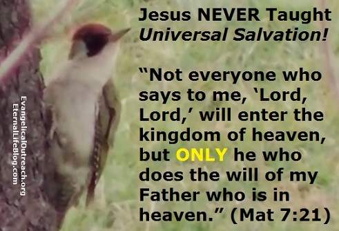 universal salvation lie
