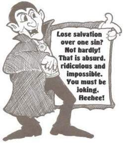 lose salvation