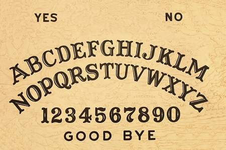 The power behind the ouija  board is not from God.