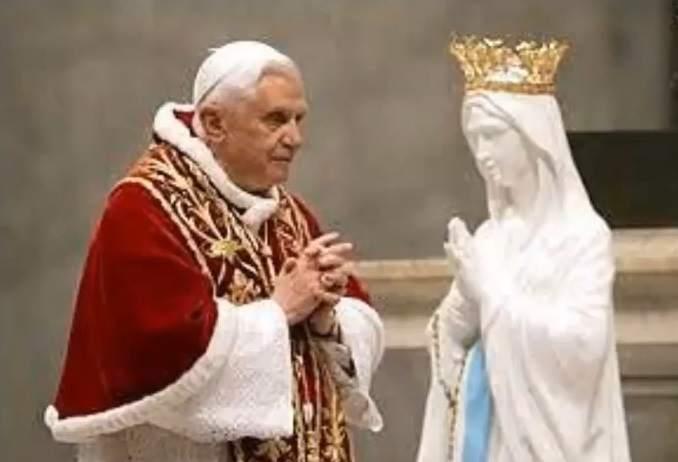 mariolatry pope benedict xvi