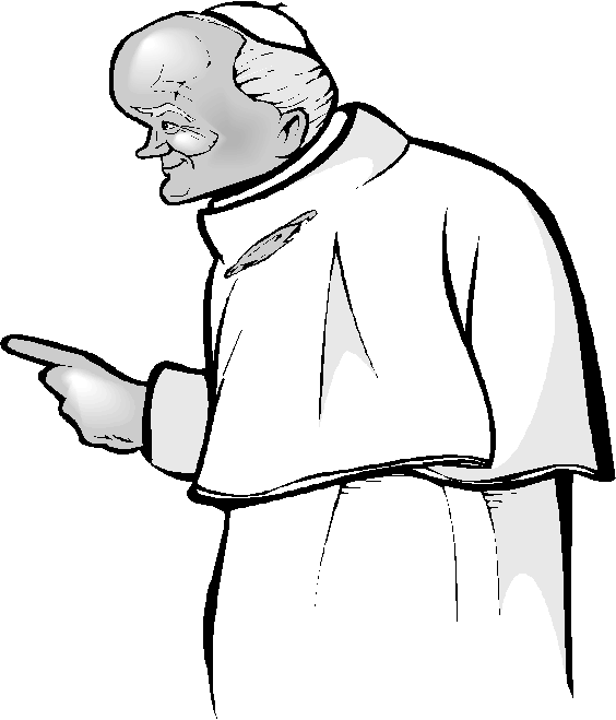 Pope. Copyright Corel Corp.