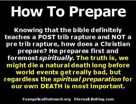 post tribulation rapture