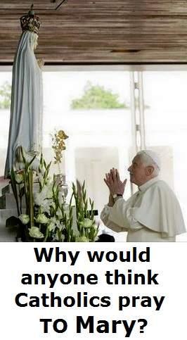 pray to mary