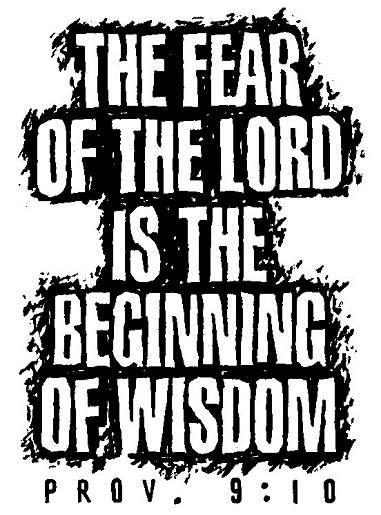 fear God not man