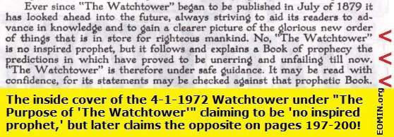 jehovah's witnesses watchtower society