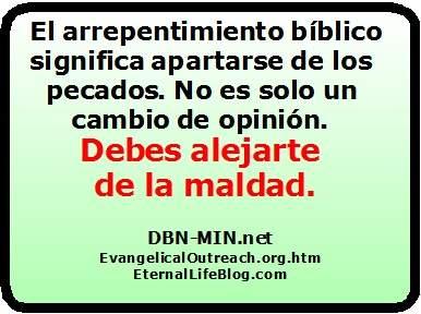 El Arrepentimiento Bíblico