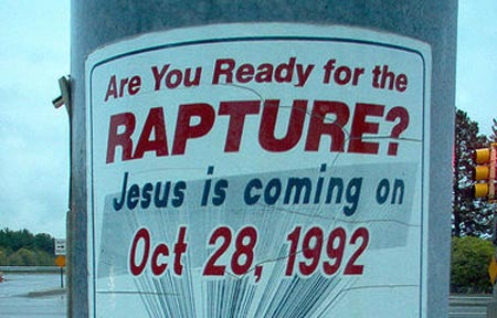 Rapture False Prophecy