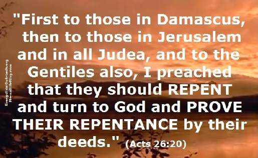repentance repent repenting