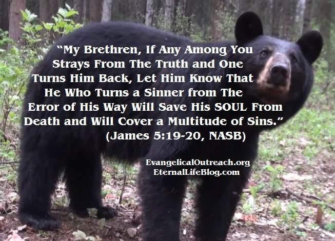 backsliders return to Jesus salvation no eternal security