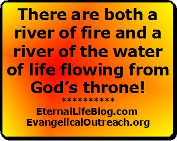 river of fire from God's throne
