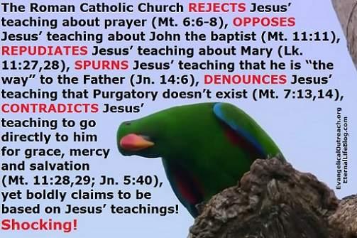 catholic church jesus' teachings