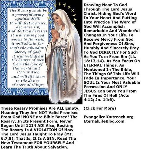 pope on rosary