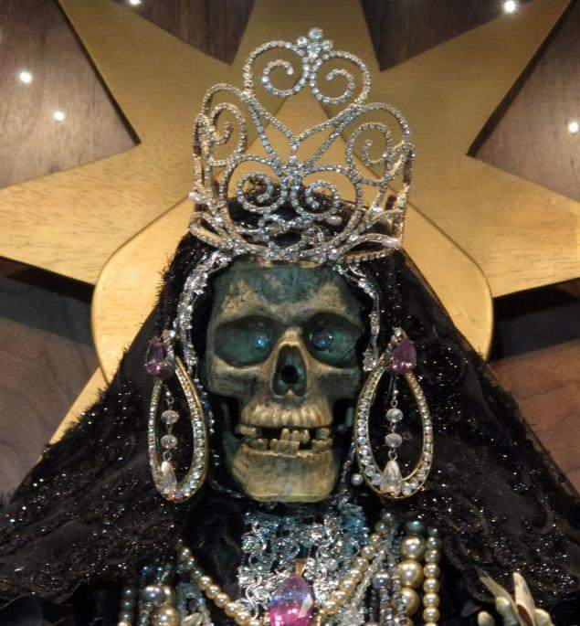 santa muerte skeleton saint holy death