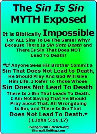 sin is sin