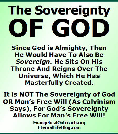 sovereign God sovereignty of God