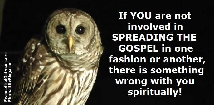 spread the gospel