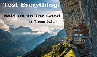 Image result for test everything hold on to what is good