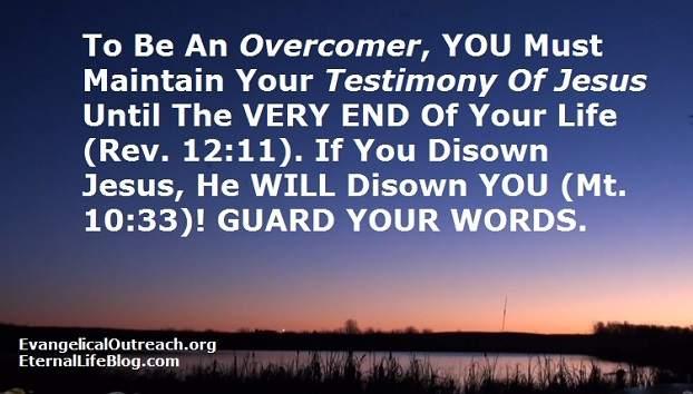 he who overcomes