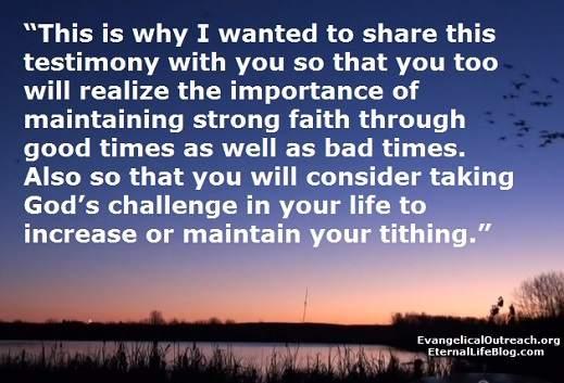 tithing testimony