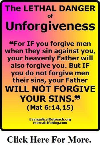 unforgiveness future sins not forgiven
