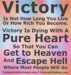 salvation, victory in Jesus