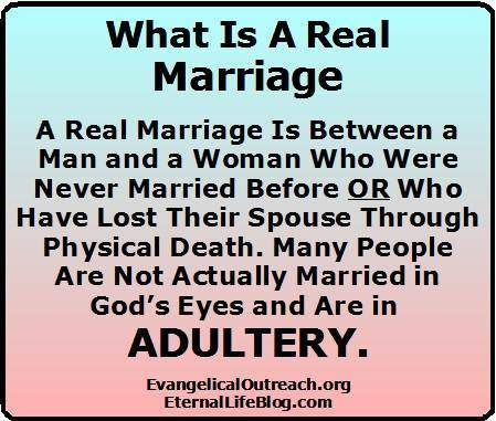 divorce remarriage adultery what is a marriage