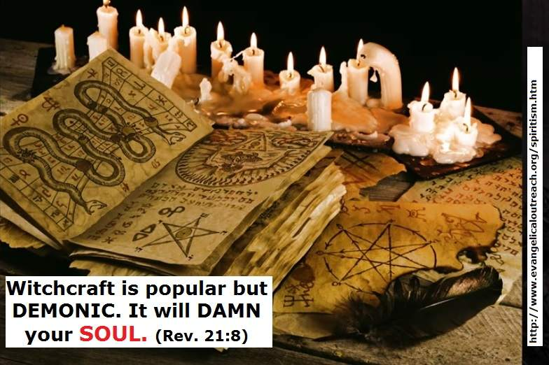 witchcraft occult dangers