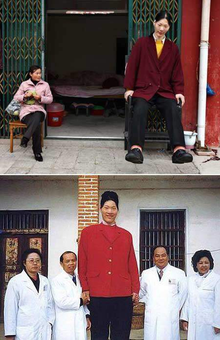 world�s tallest woman yao defen dies eternal life blog