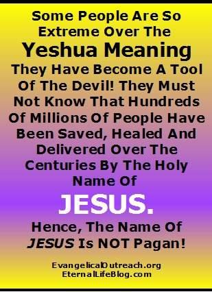 Yeshua Jesus Real Name Yahshua Jesus In Hebrew