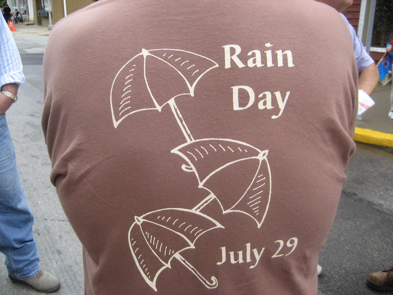 rain day shirt